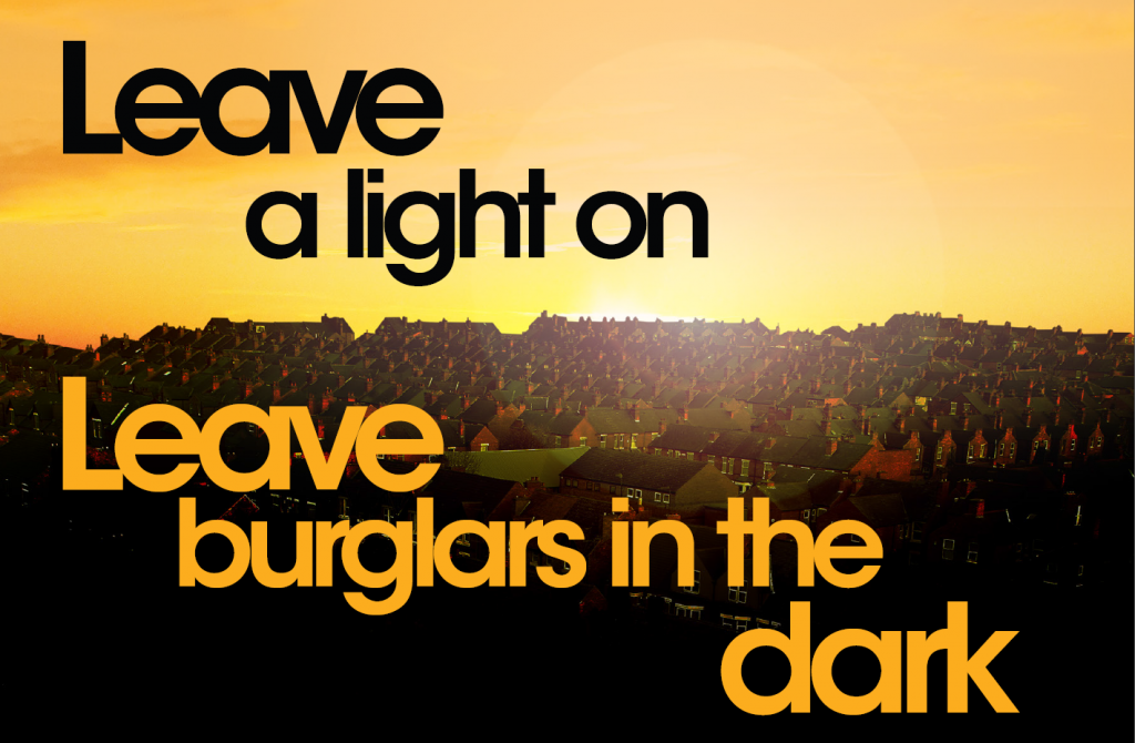 Leave a light on….